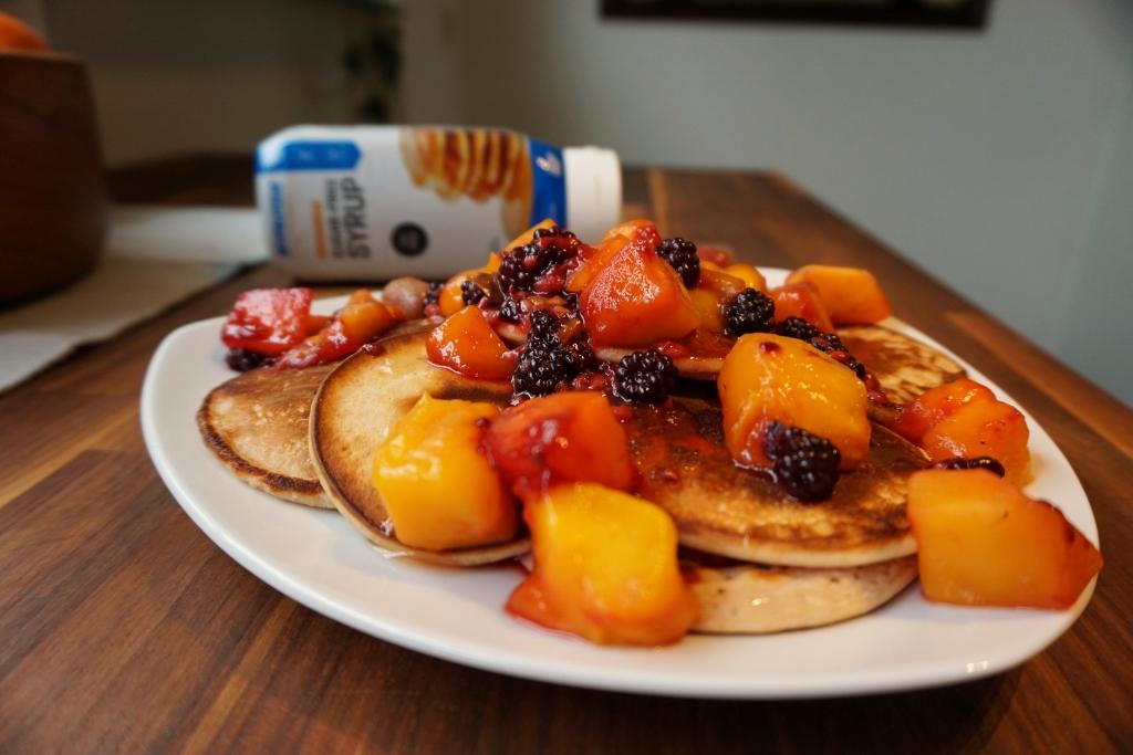 low fat protein pancakes gesundes rezept fit mit pascal. Black Bedroom Furniture Sets. Home Design Ideas