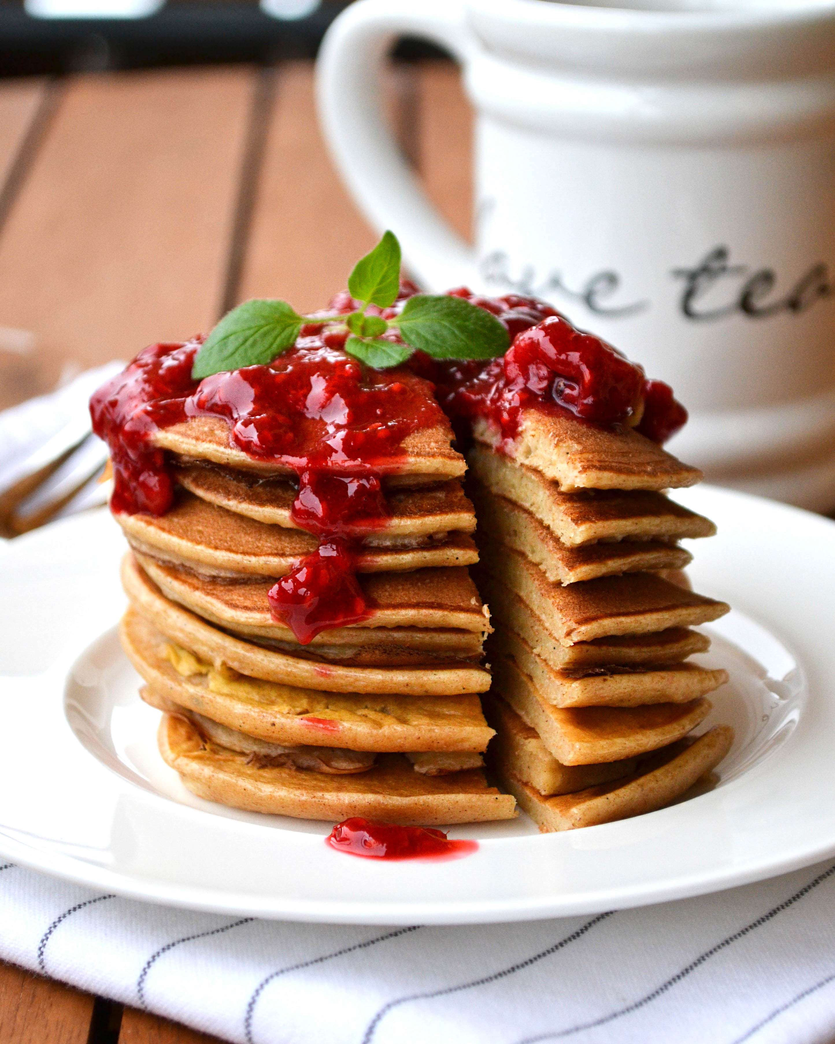 schnelles pancakes rezept so gelingen die pancakes fit mit pascal. Black Bedroom Furniture Sets. Home Design Ideas