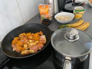 Bananencurry Rezept