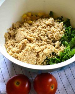 Couscous-Gemüse-Bowl