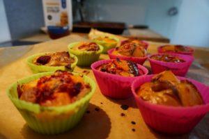 Rezept für gesunde Muffins