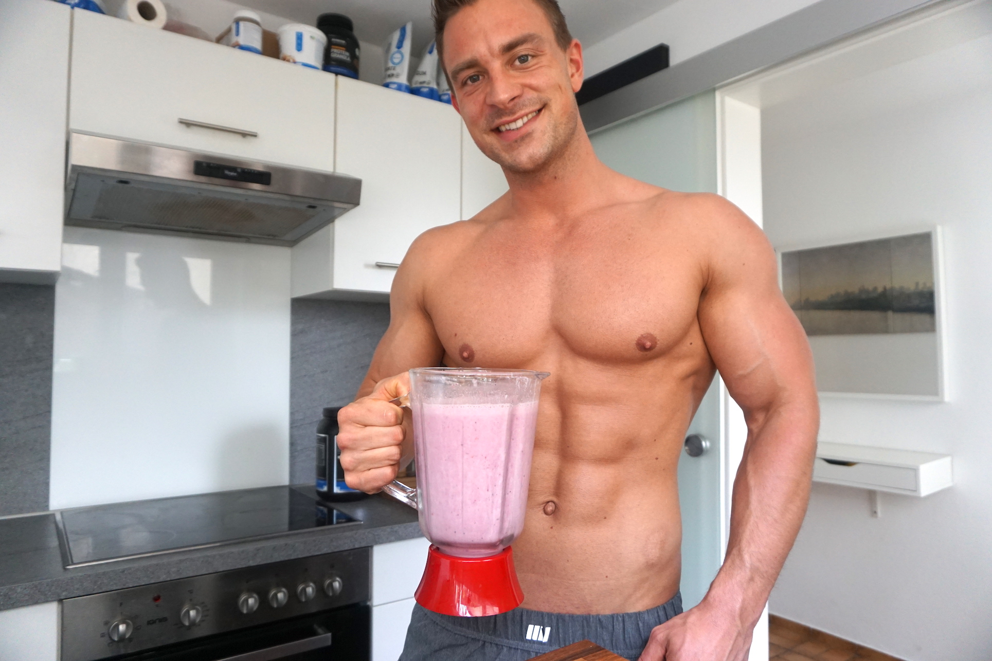 protein shake selber machen leckeres rezept fit mit pascal. Black Bedroom Furniture Sets. Home Design Ideas