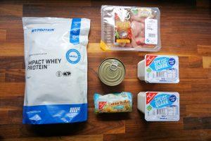Foodhaul - Fitness Einkaufsliste für die Diät