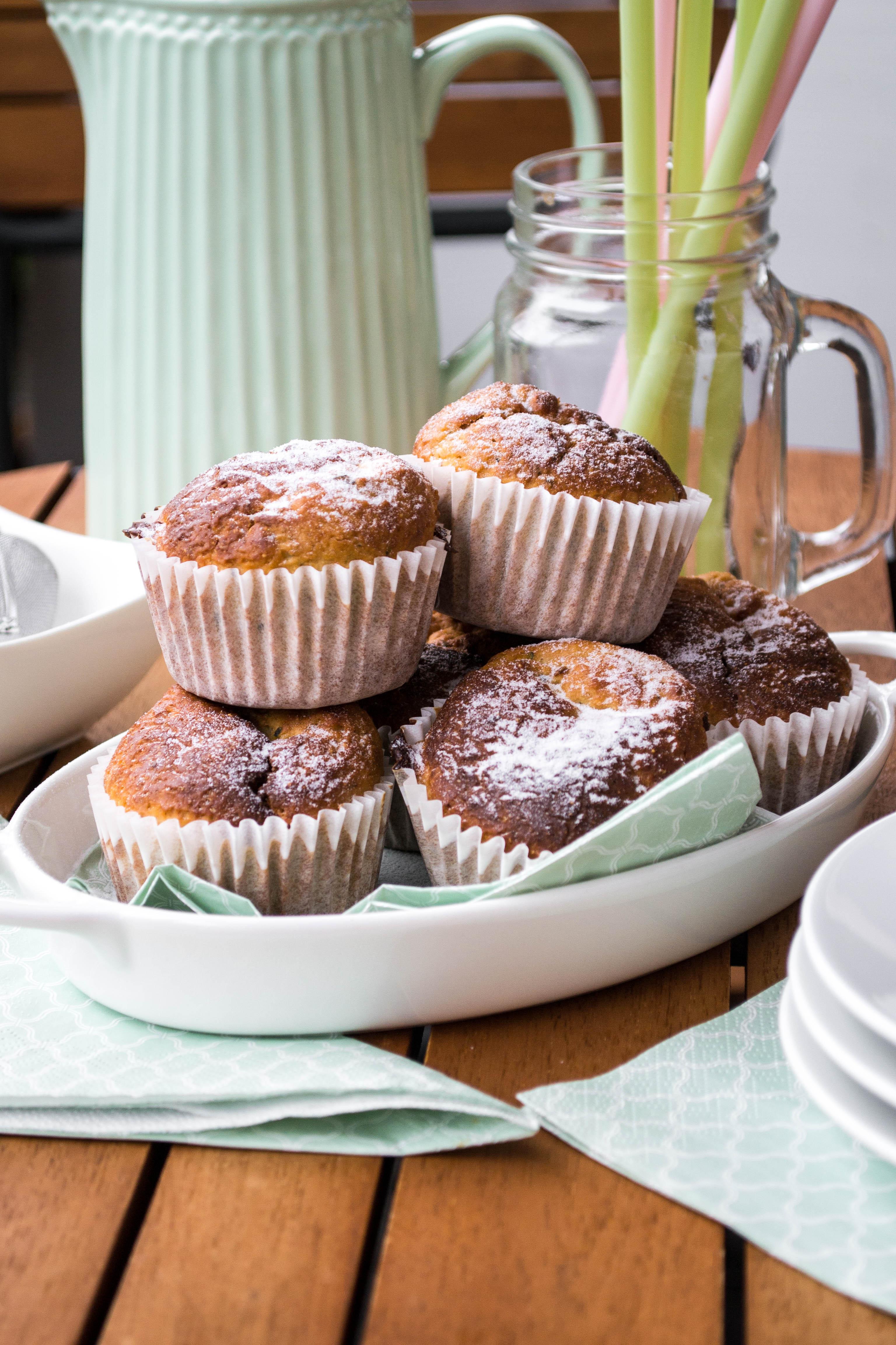 Zucchini-Zimt Muffins