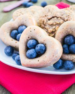 Buttermilch-Frühstücksherzen