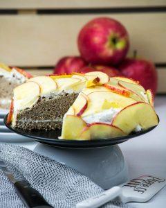 Apfel-Buchweizen-Kuchen