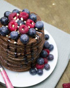 Schoko-Pancakes