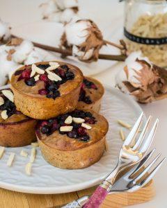 Frühstücksmuffins mit Beeren