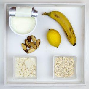 Bananen-Haferflockenb Smoothie
