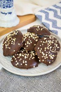 Haferfllocken-Kokos-Cookies