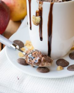 Apfelmus-Mugcake