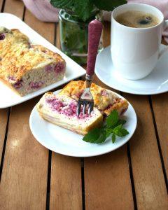 Himbeer Grieß Kuchen