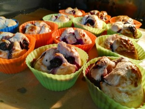 Blaubeermuffins Low Fat