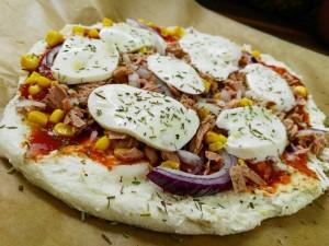 Rezept Gesunde Pizza