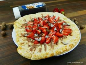 Rezept Früchte Pizza