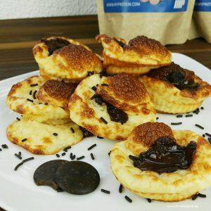 Rezept für gesunde Schoko-Muffins | Low Fat Rezept