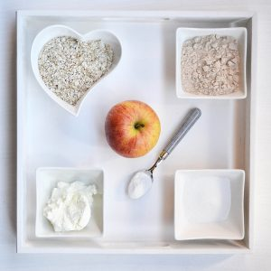 High Carb - Apfelkuchen