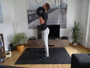 Langhantel Training für Zuhause 10