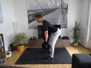 Langhantel Training für Zuhause 2
