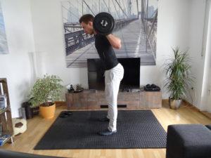 Langhantel Training für Zuhause 4