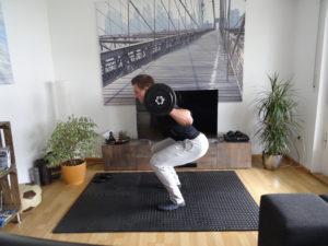 Langhantel Training für Zuhause 5