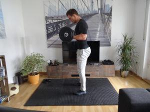 Langhantel Training für Zuhause 8