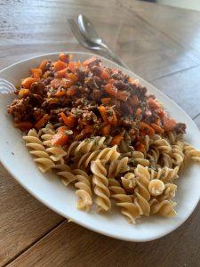 Mahlzeit für Muskelaufbau