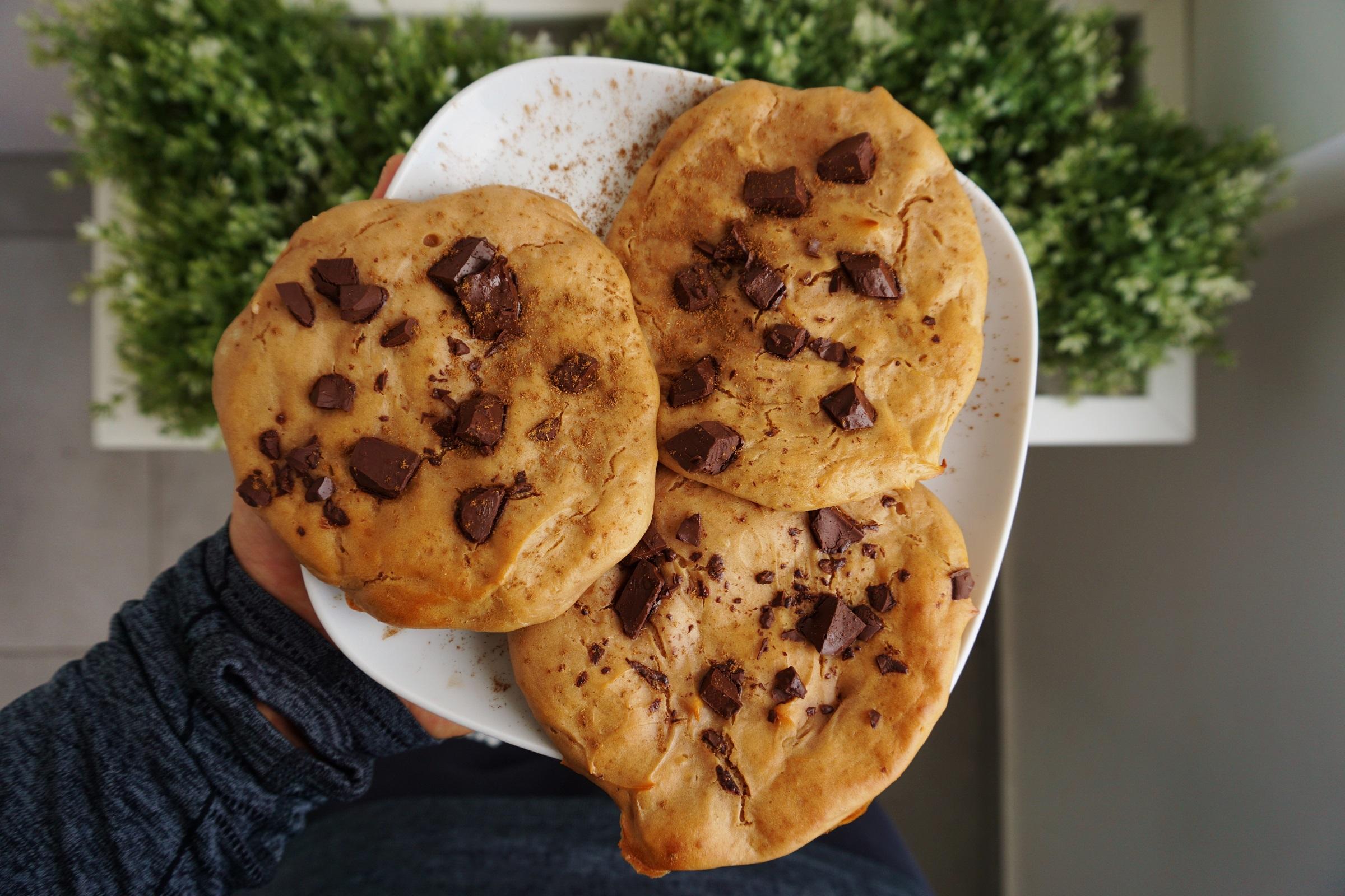 Schoko Cookie Rezept Low Fat (3)