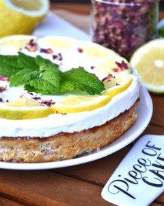 Zitronenkuchen mit Käsecreme